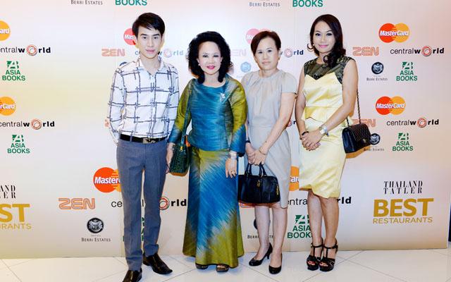 กิตติศักดิ์ กันดิศาคุณานนท์, วันเพ็ญ เจิมประไพ_Thailand tatler best restaurant 2014