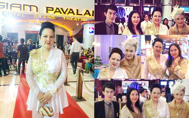 คุณหญิง อิสริยาภรณ์ ปัญจมานนท์, กิตติศักดิ์ กันดิศาคุณานนท์_Thailand Gala Premiere of Noah movie_ม.ล.ปุณยนุช