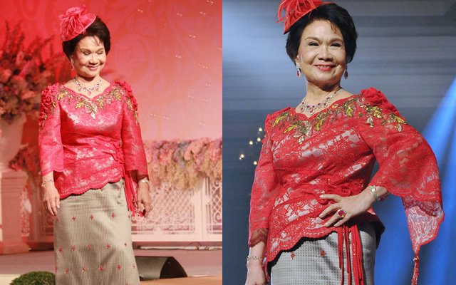 คุณหญิง แจ่มใส ศิลปอาชา, เส้นสายบนลายไหมด้วยใจภักดิ์ ครั้งที่ 3