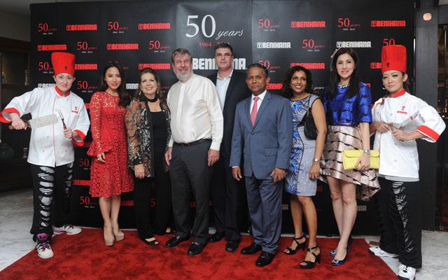 Benihana 50 Anniversary Event