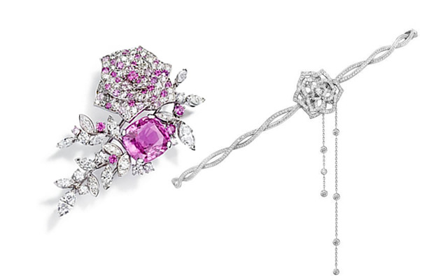 Piaget rose Passion Hairband Collection