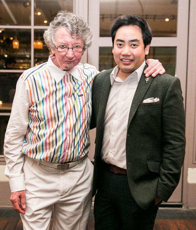 มร.แกซ เรแกน และ นาย เจนณรงค์ ภูมิจิตร Senior Brand Ambassador ดิอาจิโอ โมเอ็ท เฮนเนสซี่ (ประเทศไทย)