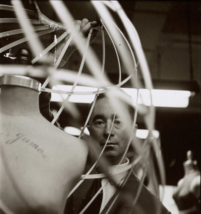 01 Charles James by Michael Vaccaro 1952