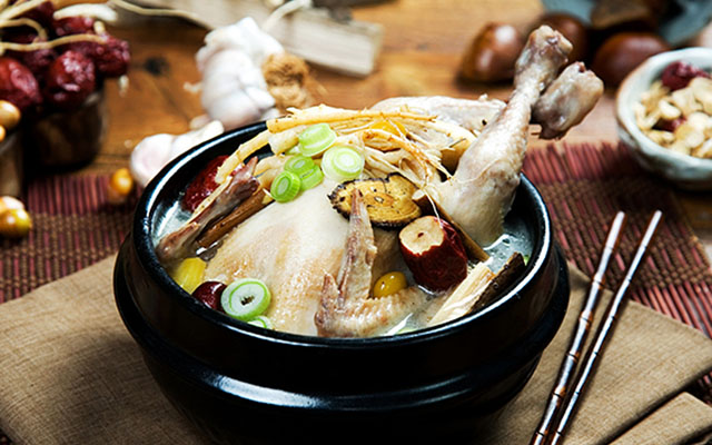 Sam-gye-tang (Ginseng Chicken Soup)