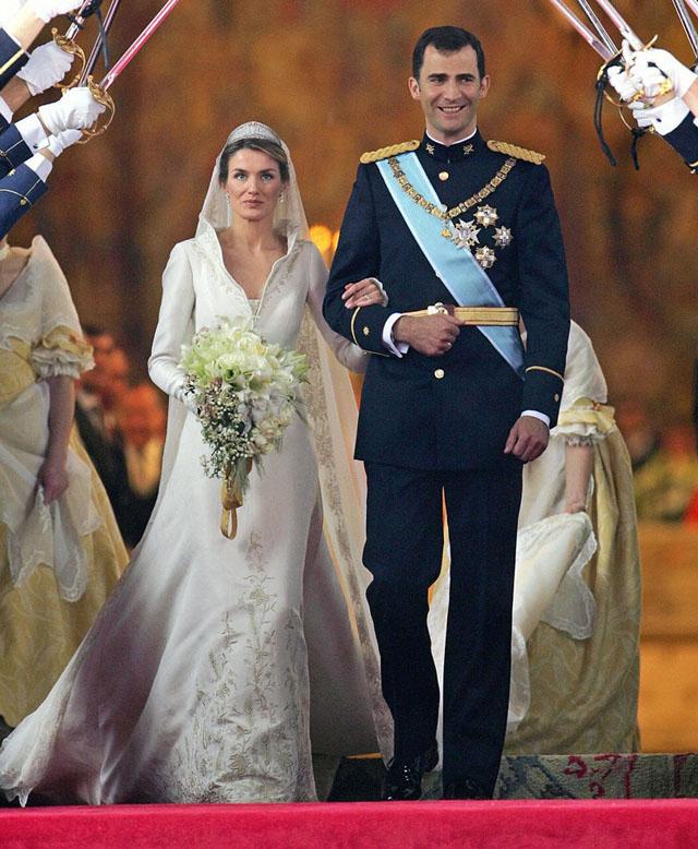 Princess Letizia Wedding