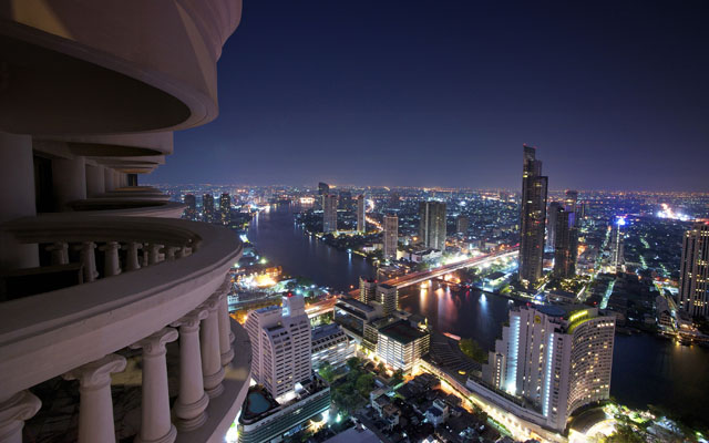 Tower Club at lebua_View from Balcony