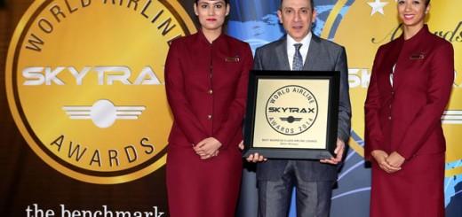 Qatar Airways Skytrax Awards 2014 01