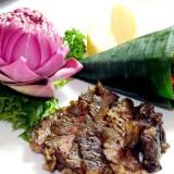 Grilled Wagyu Beef & Yard-Long Bean Salad-เนื้อวากิวเกษตรอินทรีย์ย่างสมุนไพรกับตำถั่ว