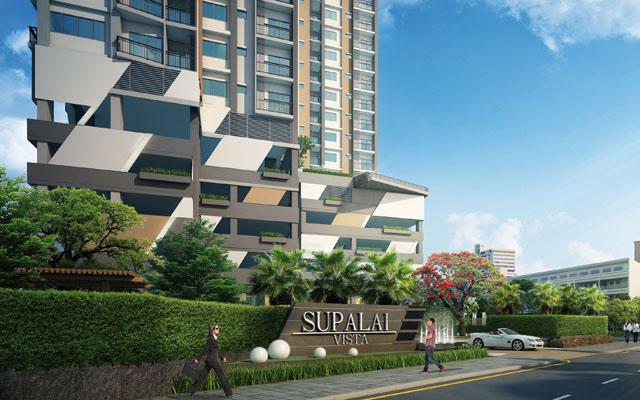 Supalai Vista @ Pak-Kred_Entrance