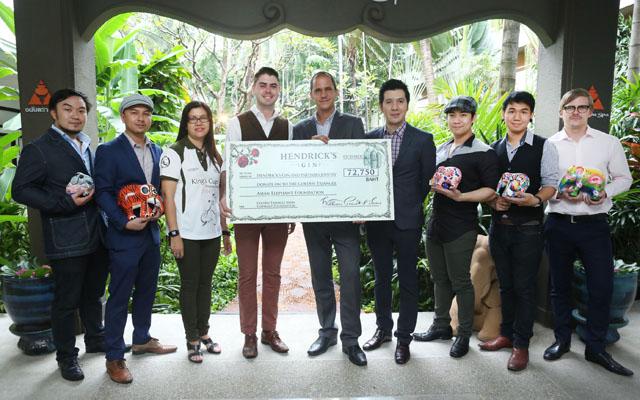 Hendrick's Gin donates to Anantara Golden Triangle Elephant Foundation