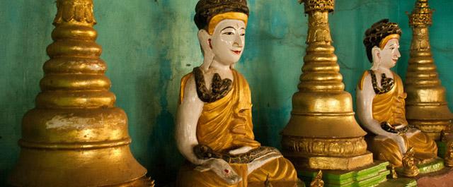 Snake Pagoda (Hmwe Paya), Near Mandalay, Myanmar