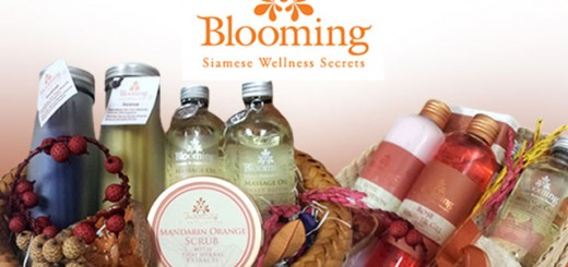 กระเช้า Blooming Spa