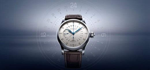 02 Longines 24 Hours Single Push Piece Chronograph