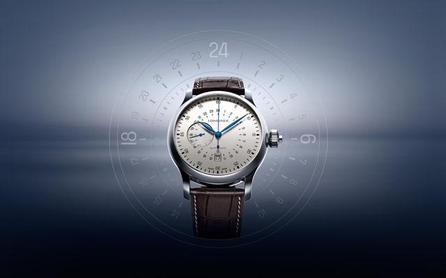 02 Longines 24 Hours Single Push Piece Chronograph