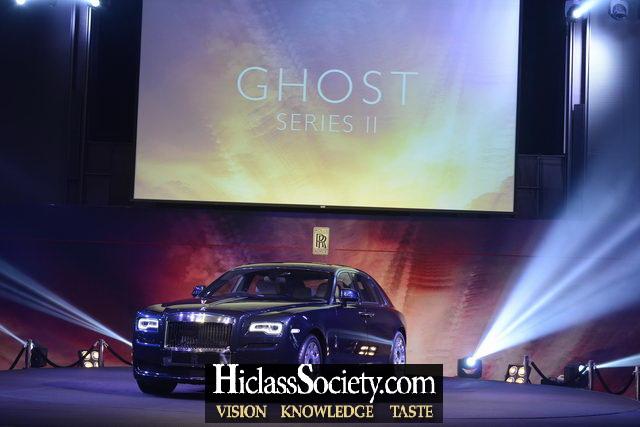เปิดตัว โกสต์ ซีรีส์ 2 (Ghost Series II) กับสี มิดไนท์ ซัพพลายน์ (Midnight Suppline) ราคา 30 กว่าล้านบาท