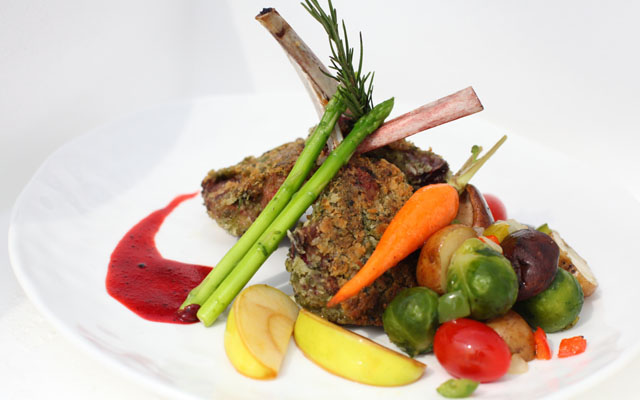 Lamb chop (New Year)
