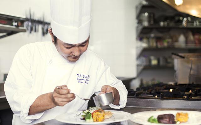 Maduzi Sake Dinner_Chef Yuya Okuda