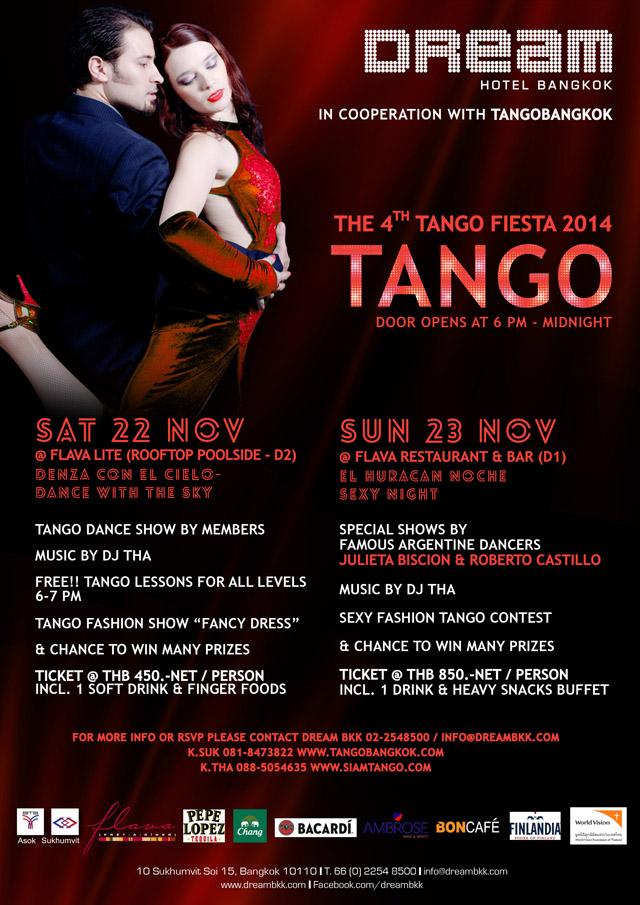 The 4th Tango Fiesta 2014