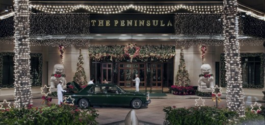 The Peninsula Bangkok_Entrance_Festive