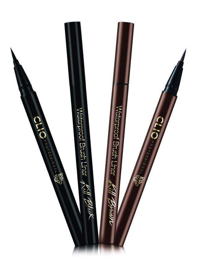 CLIO WATERPROOF BRUSH LINER KILL BROWN 6
