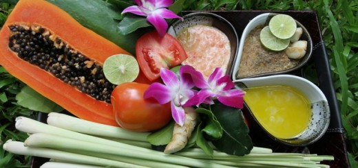Thai Royal Cuisine Spa Treatment at SpaCenvaree