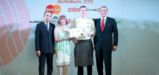 Thailand's Best Restaurant 2015