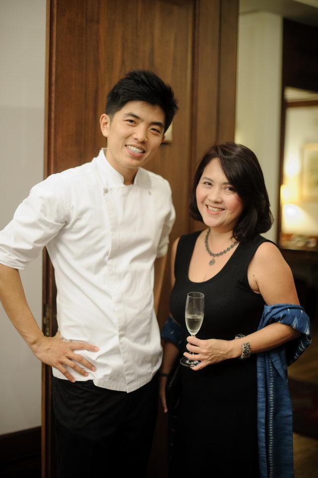 Chef Ton and Khun Bejawan Wisootsat
