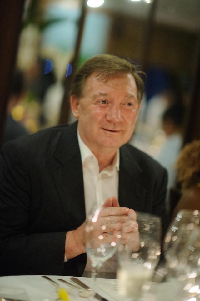 H.E. Mr. Brendan Rogers , (Ambassador, Embassy of Ireland)