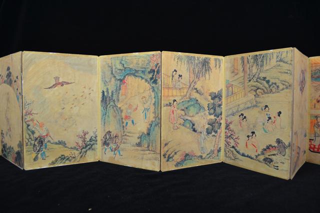 หนังสือภาพวาดวรรณคดีจีน-1