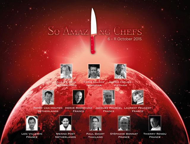 Chefs Map 2015