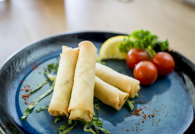 Cheese Rakakat - Crispy Feta cheese stuffed pastry