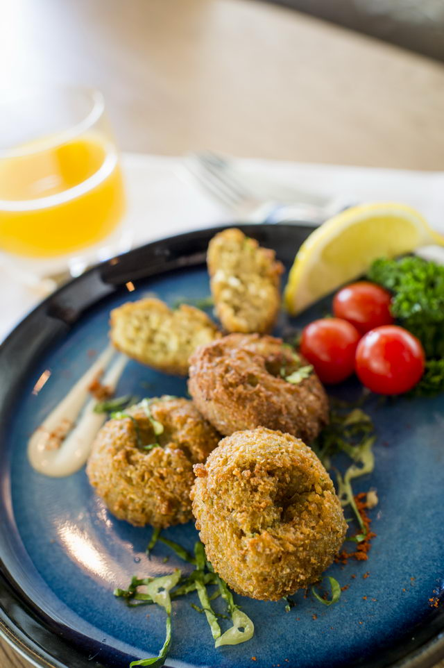 Falafel - Crispy chickpeas, mixed vegetable and Lebanese spices