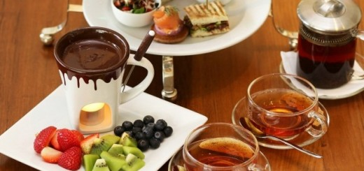 Chocolate High Tea Set