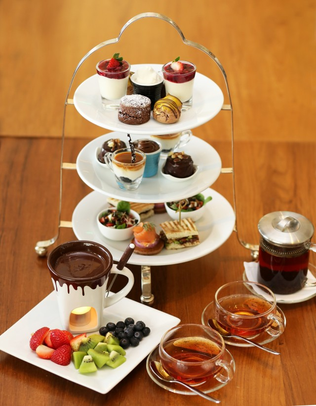 Chocolate High Tea Set~1