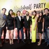 Citrus Highball Party Photo Caption