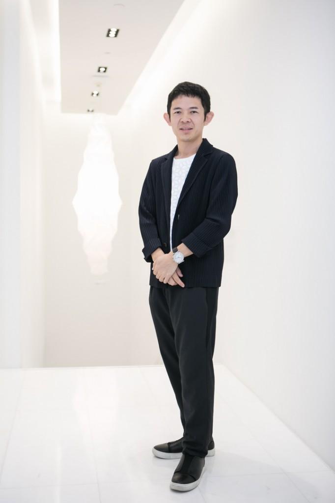 Mr.Yoshiyuki Miyamae, the brand's head designer of ISSEY MIYAKE