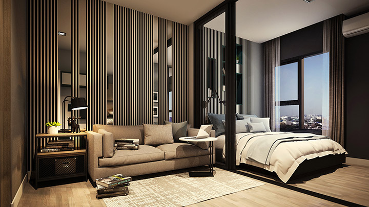 Ocean-Residence_Living-room-Unite-23.50-sqm