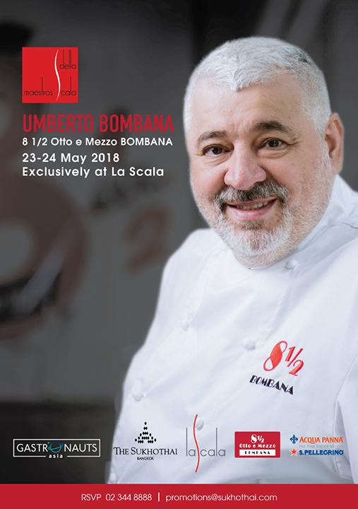 Chef Umberto Bombana Teaser