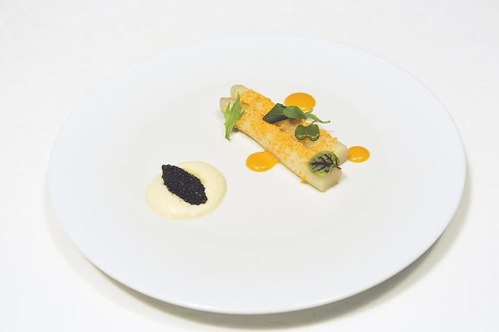 White Asparagus _ Oscietra Caviar
