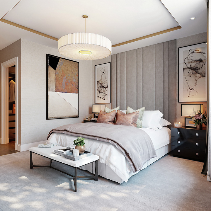 CGI of Master Bedroom