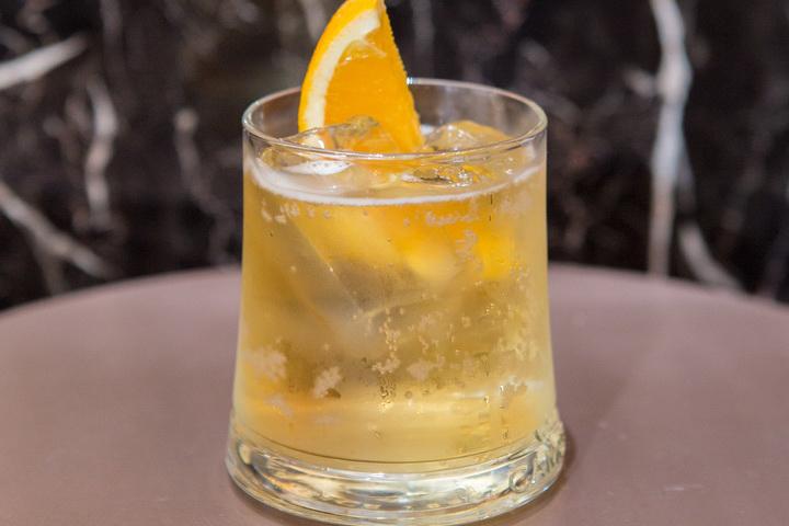 เมนูเครื่องดื่ม บอร์เดอรีส์จิงเจอร์เอล (Borderies Ginger - Ale) สำหรับต้อนรับ แขกผู้มีเกียรติ และสื่อมวลชนที่มาร่วมงาน