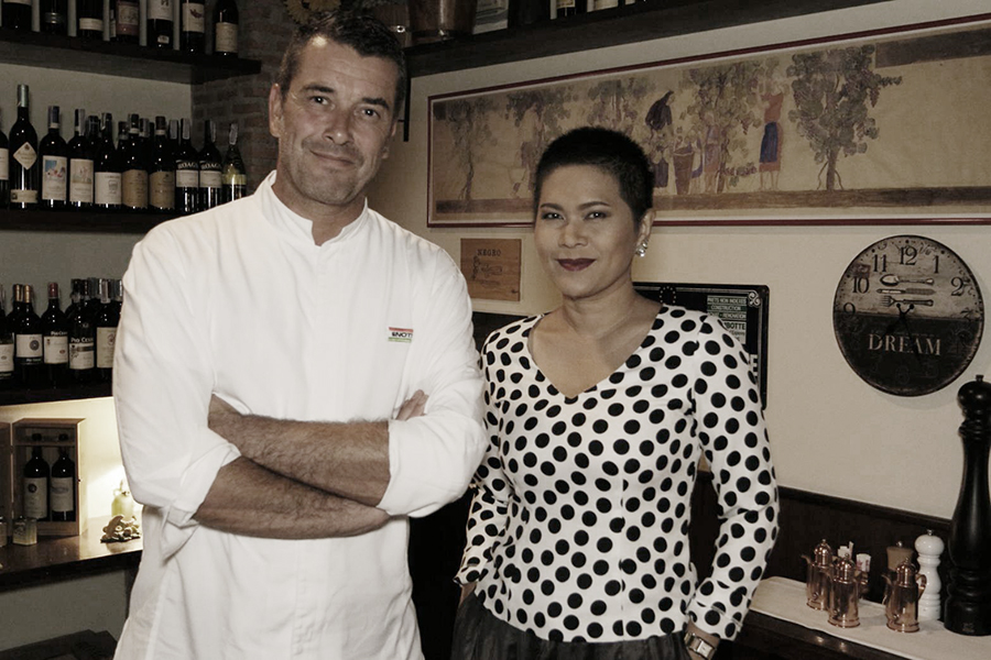 Michelin Star Chef Stefano Borra @ ENOTECA BANGKOK