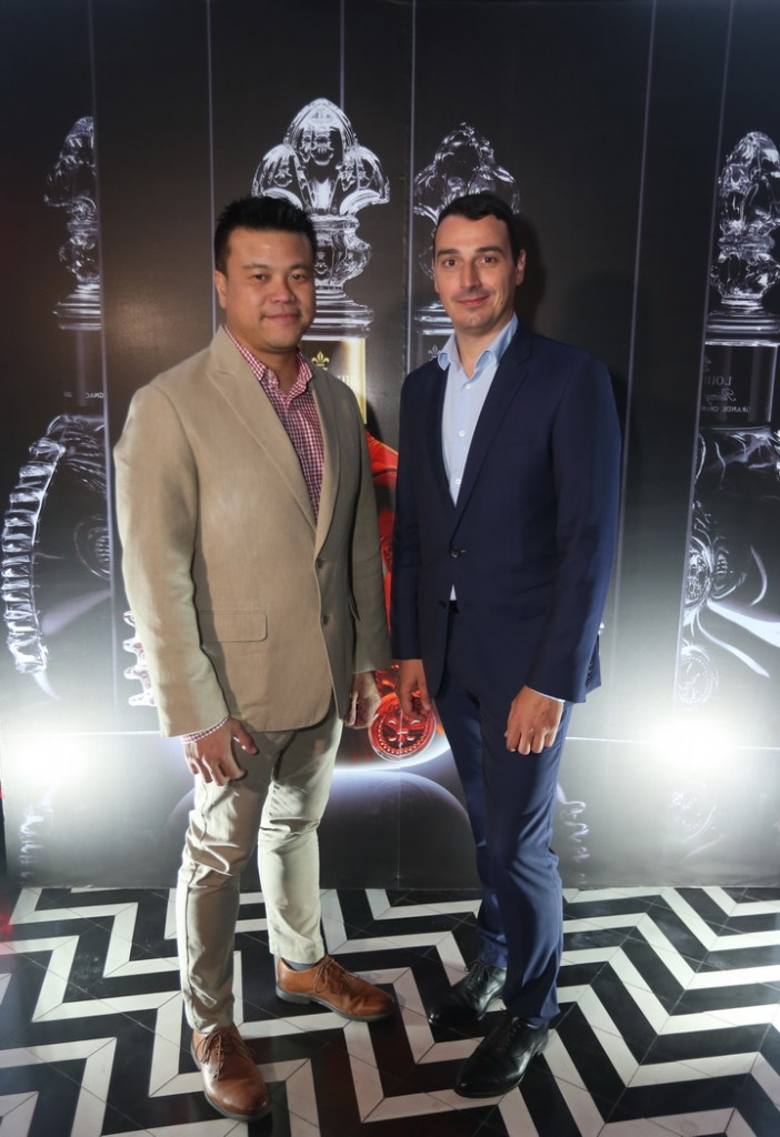 Kittipat Chaiyakul,Rémy Cointreau Marketing Director for Thailand & Baptiste Loiseau,Cellar Master