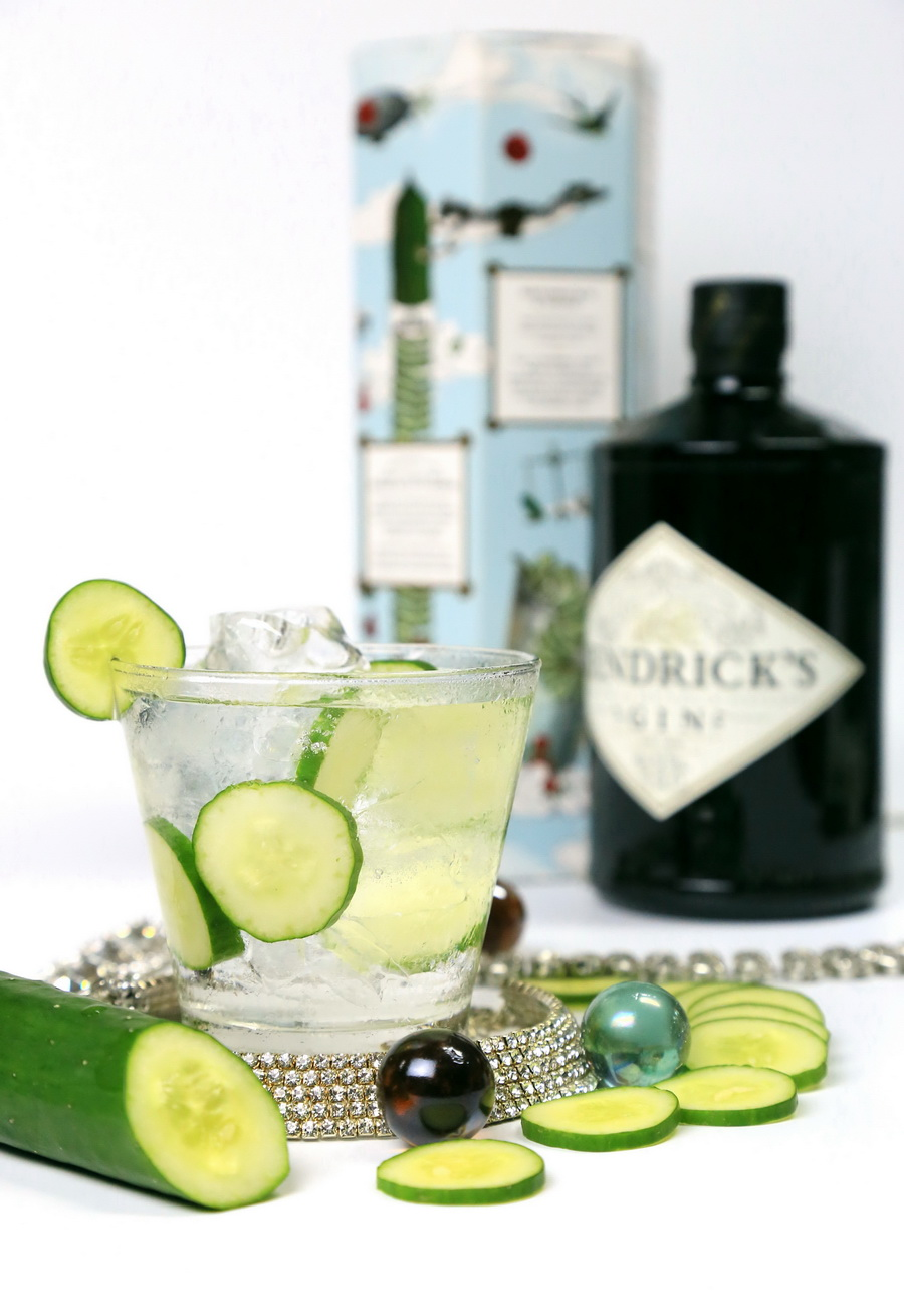 003-Hendrick's Gin Cucumber Cocktail
