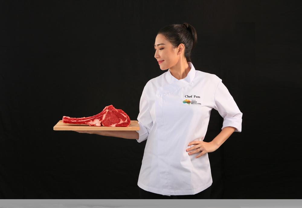 เชฟแพม - พิชญา อุทารธรรม แบรนด์แอมบาสเดอร์ ประจำประเทศไทย ของ  True Aussie Beef